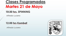 ¡Ven a Spinning y Kombat!
